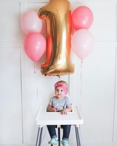 I'm SO obsessed with embroidered dresses and tops right now! And of course love matching Lila whenever possible 💜💛💗💚💙 My dress is from one… First Birthday Crown, 1st Birthday Party For Girls, Donut Birthday Parties, Baby Boy First Birthday, Birthday Ideas, High Chair Decorations, Birthday Pictures, Birthday Balloons, First Birthdays