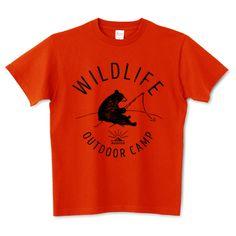 WILDLIFE 5.6オンスTシャツ (Printstar)