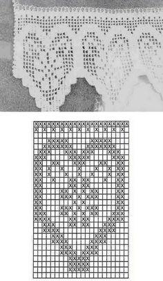 Rideaux au Crochet Fait Main (3)