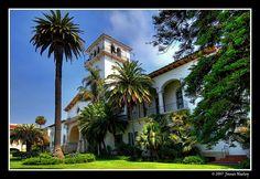 Historic Santa Barbara Courthouse | Santa Barbara...
