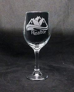 20 oz Realtor Good Day Bad Day Dont Even Ask Large Wine Glass >>> You can find more details by visiting the image link.Note:It is affiliate link to Amazon.