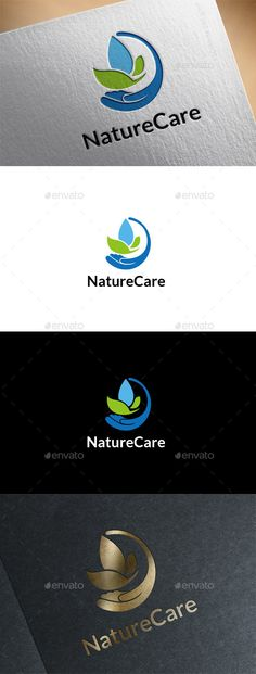 Nature Care - Logo Design Template Vector #logotype Download it here: http://graphicriver.net/item/nature-care-logo/11140316?s_rank=990?ref=nesto
