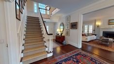 Maine House, Virtual Tour, House Tours, House Plans, House Ideas, Stairs, United States, Houses, Baby Shower