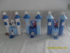 centro de mesa festa infantil frozen - Pesquisa Google
