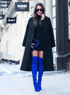 16 Ways to Wear Over-the-Knee Boots