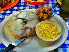 Radicke's Bluebonnet Grill in San Antonio - Jalapeno chicken fried steak is to die for