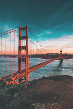 "thelavishsociety: ""Golden Gate by Joseph Barrientos 