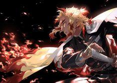 Anime Demon Slayer Kimetsu No Yaiba Kyojuro Rengoku Hd Wallpaper 003 Manga Anime, Anime Demon, Anime Guys, Anime Art, Demon Slayer, Slayer Anime, Best Anime On Netflix, Era Taisho, Ahri Wallpaper