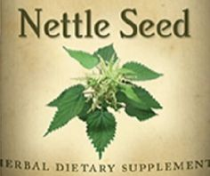 STINGING NETTLE SEED The leaves may sting but the seeds are kind to your kidneys. Stinging Nettle seed is used to support and protect healthy kidneys.