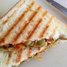 Grilled Veg Sandwich for Breakfast! #sandwich #breakfast #comingsoonsharmis #sharmispassions #kidsbreakfastideas #kidsbreakfast #mittus