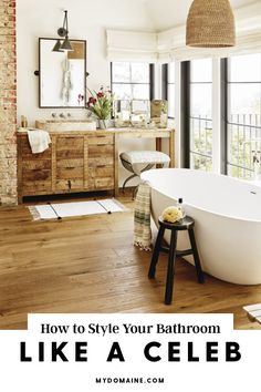 The best way to style your bathroom