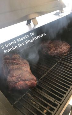 3 Good Meats to Smoke for Beginners. how to recipe grilling outdoors pitboss smoker weber kettle - Smoker - Ideas of Smoker Smoker Grill Recipes, Smoker Cooking, Grilling Recipes, Electric Smoker Recipes, Meat To Grill, Bbq Grill, Weber Grill Recipes, Best Smoker Grill, Charcoal Grill Smoker