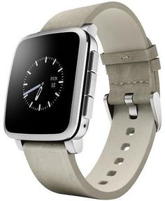 Pebble Time Steel Smartwatch for Apple/Android Devices - Silver: Get $10 Newegg Promotional Gift Card with purchase… #coupons #discounts