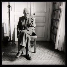 Michel Leiris, Paris, 1987 by Marc Trivier