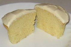 Easy Almond paste cupcakes