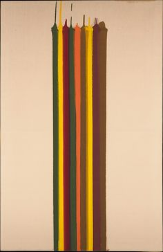 Pungent Distances 1961.  Morris Louis