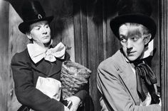 John Mills and Alec Guinness -- Great Expectations