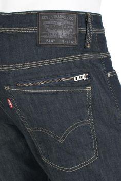 Levi's 514 jeans zippered back pocket, better for festivals when you're in crowds. Denim Jeans, Raw Denim, Blue Jeans, Estilo Denim, Surf Wear, Denim Trends, Jean Outfits, Denim Fashion, Pants For Women
