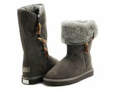 UGG Bailey Button Triplet 5813 Boots Chocolate