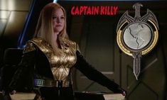 Captain Killy (Tilly) of the Terran Empire.