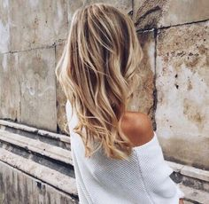 Image about hair in h a i r by Style By Johanna Hairstyles Haircuts, Down Hairstyles, Different Blond, Let Your Hair Down, My Hairstyle, Good Hair Day, Hair Dos, Gorgeous Hair, Her Hair