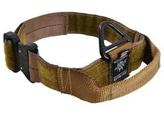 Cobra Buckle Dog Collar with Handle