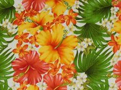 Gorgeous Hibiscus Fabric. Check it out at HawaiianFabricNBYond.Etsy.com  Aloha :)
