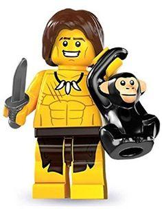 Lego Series 7 Jungle Boy Mini Figure ❤ LEGO