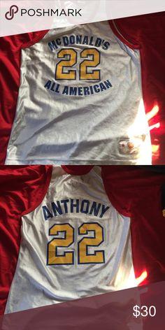 32e9e5b30b1 Carmelo Anthony McDonalds All American Jersey Size  Adult Large. Carmelo  Anthony McDonalds All American Replica Jersey. Game Time Other