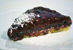 Fotorecept: RAW bananovo-čučoriedkový dezert Meatloaf, Smoothie, Steak, Beef, Healthy Recipes, Meals, Cake, Food, Meat
