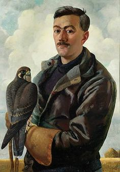 Portrait of Henry Williamson by Charles Tunnicliffe (British 1901-1979)