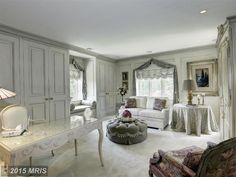 Office/Woman Cave of luxury home in Ellicott City, Maryland