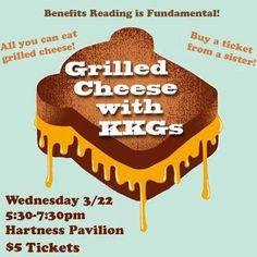 Grilled Cheese with KKGs Kappa Kappa Gamma Furman