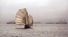 HKFP Lens: When junks filled Victoria Harbour - beautiful shots from 1970s Hong Kong | Hong Kong Free Press