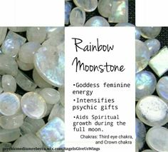 Rainbow Moonstone crystal meaning
