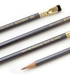 The Blackwing 602 - believed by many to be the greatest pencil ever made - has come back into production after a 13-year hiatus.