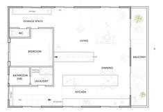 Casa en Yoro por Zona de embarque Oficina de Diseño