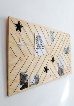 Pêle-mêle élastiques diy / diy mood board