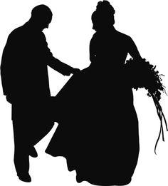 Vectores libres de derechos: Bride and Groom