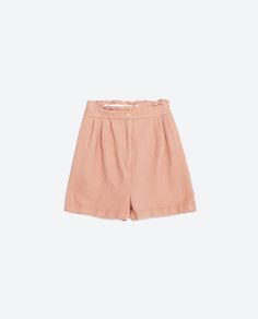 Image 6 of PLEATED SHORTS from Zara