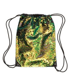 Nylon bag with sequined embroidery at front. Drawstring at top. Can be worn as backpack. Size 13 x 16 in. Sequin Backpack, Black Backpack, Drawstring Backpack, H&m Bags, Mermaid Sequin, Nylon Bag, H&m Online, Cross Body Handbags, Purses And Handbags