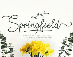 """Check out new work on my @Behance portfolio: """"Springfield 