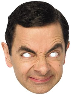 Pappmaske Mr. Bean!