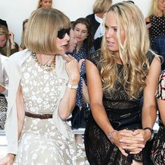 What Happens When Anna Wintour Suggests You Get a Haircut New Short Hairstyles, New Haircuts, My New Haircut, Older Beauty, Caroline Wozniacki, The Beauty Department, Tennis Stars, Anna Wintour, Short Hair Styles