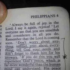 Philippians 4:6 My life verse