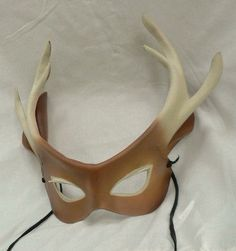 leather mask stag patterns - Google Search