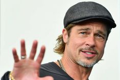 Of course, Pitt has always been incredibly handsome, but like the other beautiful aliens among us — Jennifer Lopez, Jessica Lange, Angela Bassett — he's only become more stunning with age. Celebrity Babies, Celebrity Photos, Celebrity Style, Brad Pitt Birthday, Pretty Men, Beautiful Men, Beautiful People, Astro, Ideal Man