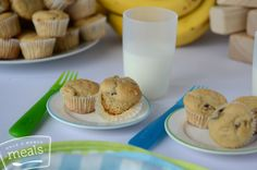 Mini Banana Pancake Muffins | Once A Month Meals | Freezer Cooking | OAMC
