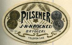 Pilsener, J. K. Kröckels #panimot #olut #beer