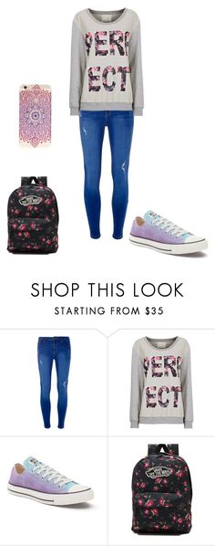 """""""Untitled #149"""" by samhilborne on Polyvore featuring Dorothy Perkins, Converse and Vans"""
